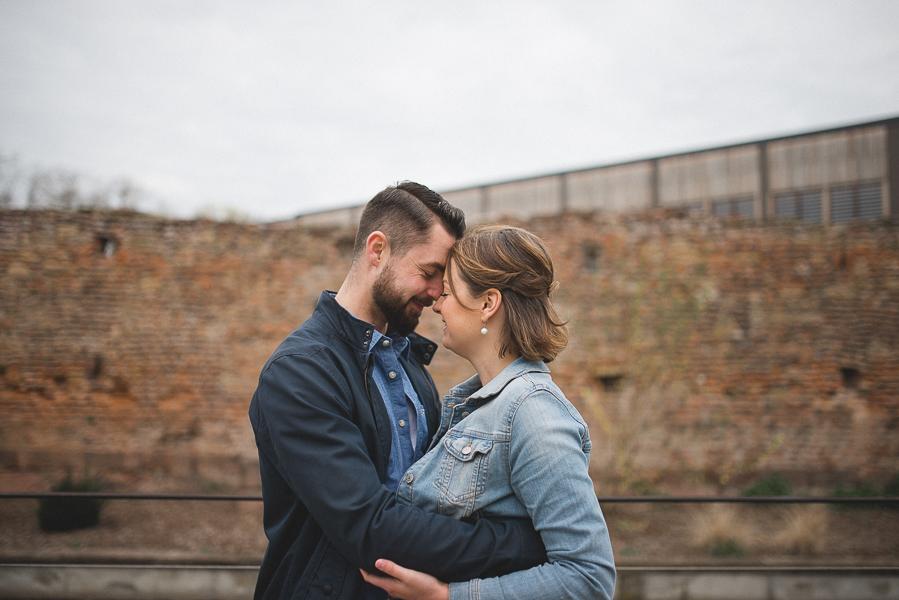Les photos de grossesse ont été réalisées à Colmar.